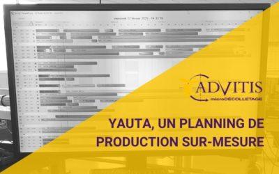 YAUTA, un planning de production sur-mesure