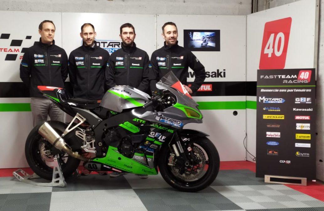 Advitis soutient le Fast Team Racing pour les 24H du Mans Motos