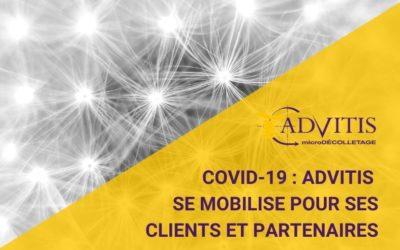 COVID-19 : Advitis reste ouvert pour ses clients et partenaires